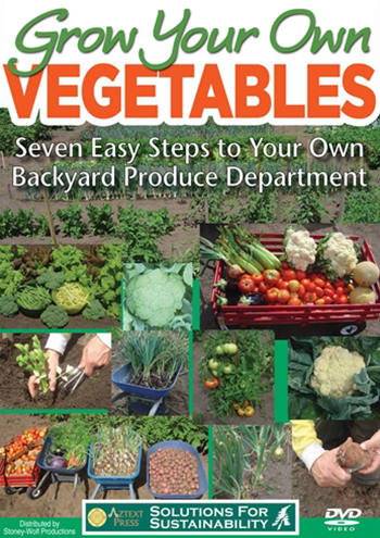 Grow Your Own Vegetables book
