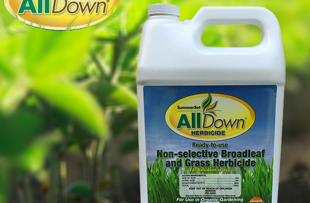 safe organic herbicide alternative SummerSet AllDown